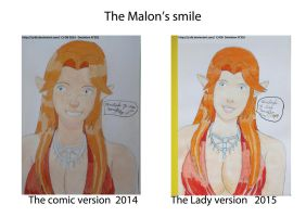 The Malon's smile by CJ-DB