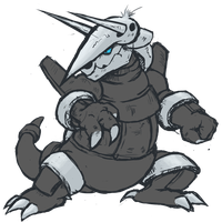 Aggron Practice by runde