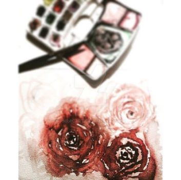 Roses by pnracART