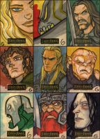 LOTR Masterpieces Cards - 1 by grantgoboom