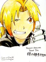 For Junne12-Edward Elric by MikomiSakura