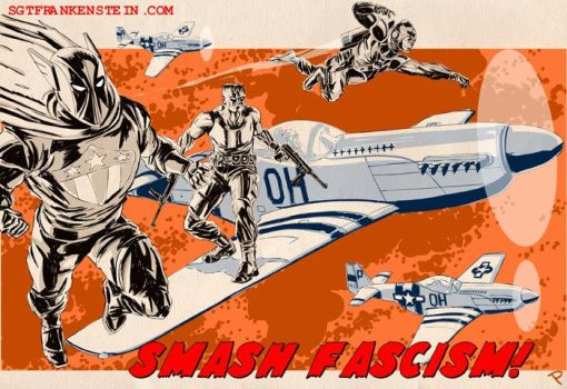 SMASH FASCISM1 by jaypiscopo