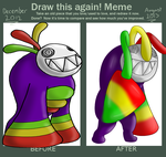 Before and After Meme - Fungilla Doodle by Kendulun-the-Kihoryu