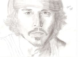 Johnny Depp by wolverineluver45