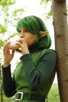 Zelda OOT: Saria's Song by SFLiminality