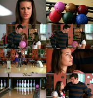 Glee: Rachel and Finn Bowling by JuanitoTheVampire