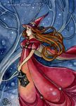 mini - Red Witch by MeredithDillman