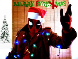 Deadpool F ing Xmas by yume-ninja