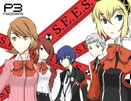 persona 3 -SEES- by i-c-21
