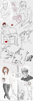 Sketchdump by your-friendly-nukes