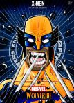 Sketch Card:Wolverine by hannibal870
