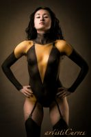 Silk Spectre II Body Paint by oldmacman