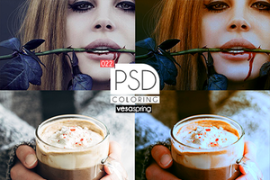PSD Coloring 022 by vesaspring