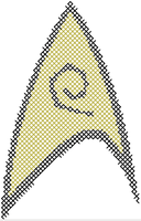Star Trek Security Insignia Pattern by rhaben