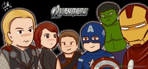 The Avengers by sweetcocoa