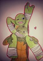 Raph and Mikey!! ^^ by yui-cute