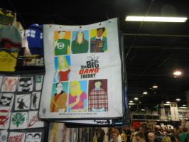 Big Bang Theory 2013 San Diego Comic-Con backpack by dth1971