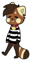 :CO: Red Panda Elliot by QTipps