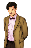 Doctor Who [COLOUR-IN] by PonellaToon