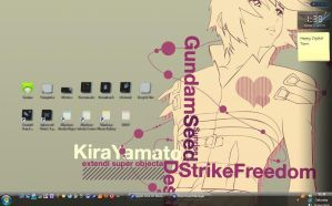 My Current Desktop by apple-sina