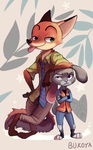 Zootopia by Bukoya-Star