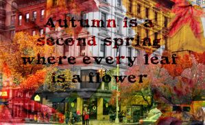 Autumn Quote by RainbowWish
