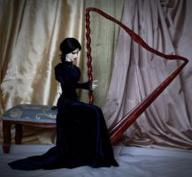 Harp in 1:3 scale by AyuAna