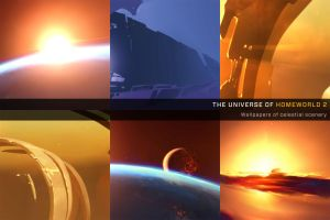 Homeworld 2 Wallpaper pack by ThunderBreak