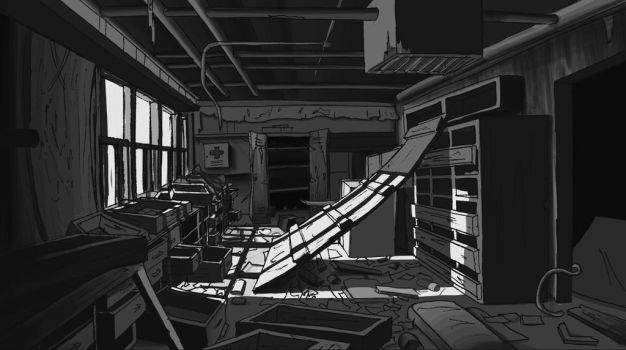 Storage Room by MemorySoul