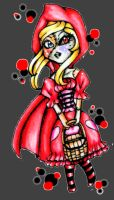 Undead Red Riding Hood by CUTE-ChibiMONSTERZ