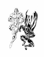 Apollo and Midnighter by smittyd