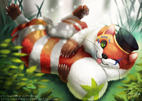 Ferret!? by PenguinEXperience