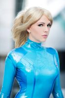 Zero Suit Samus portrait by Miracole
