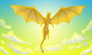 Legend of the Golden Dragon by windwolf55x5