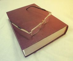 book with glasses -1 by moslem-d