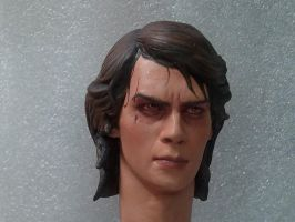 Anakin, angry Sith repaint - 1 by DarrenCarnall