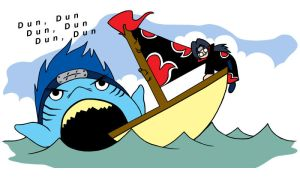 Kisame JAWS by FlolovesGIR