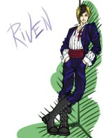 Riven colored by red-eye-girl