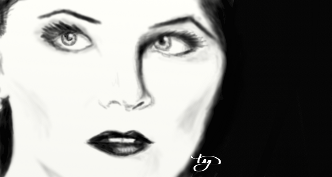 Snow White (Once Upon A Time) - Fog Quick Draw by tyrynn