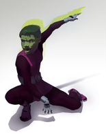 Beast Boy by 0dd10ut