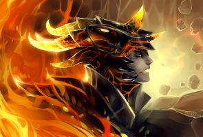 Guardian of Fire by Enijoi