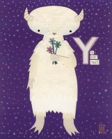Y is for Yeti by renton1313