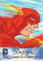 DC Comics New 52 Sketch Card: The Flash by DeJarnette