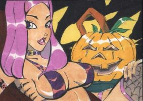 Halloween ACEO Card by Jimbing by ShonRichards