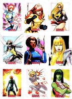 Women of Marvel 05 by Cinar