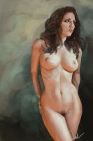 Nude Study 1 By Derektall-d49faay by DR0ck