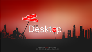 The-Desktop-Stop Wallpaper by lethalNIK-ART