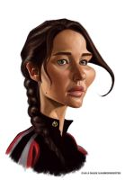 Jennifer Lawrence by markdraws