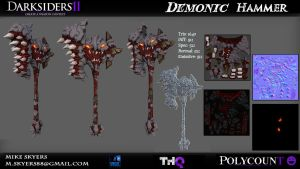 Darksiders 2 Create a weapon Contest by 0SkyerS0