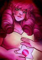 Rose Quartz by ohparapraxia